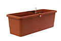 Self-irrigation window box Smart System Gardenie 40 cm terracotta