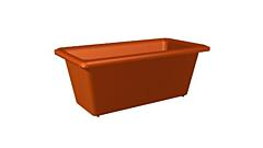 Small window box 20 cm terracotta
