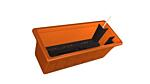 Self-irrigation window box Garden Flor 40 cm terracotta