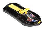 Řiditelný bob Snow Formule černá