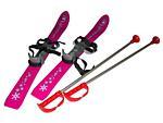 Lyže Baby Ski 90 cm 2012 růžová-reflex