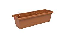 Self-irrigation window box Smart System Extra Line 40 cm terracotta
