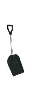 Snow shovel 27 ALU Telescope black