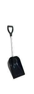 Snow shovel 27 ALU black