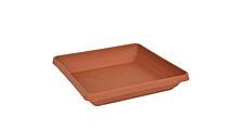 Sous-pot Quattro 20x20 cm terre cuite