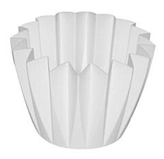 Decorative flower pot Adonis  11 cm white
